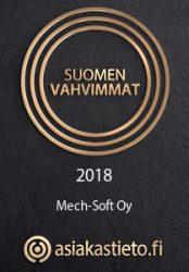 Suomen Vahvimmat 2018, Mech-Soft Oy